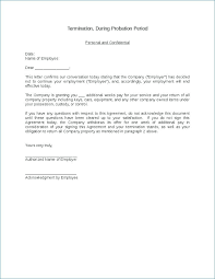 Employee Letter Of Termination Sample Employment Contract