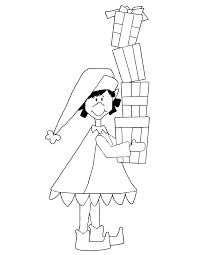Small Picture Coloring Pages Coloring Pages Elf On The Shelf Color Pages