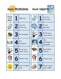 Daily Routine Chart For 2 Year Old Image Result For Kids Routine Charts For 8 Years Old Kids