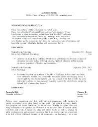 Sample Sports Resume Sports Management Resume Samples