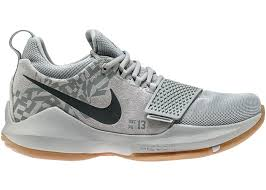Nike Pg 1 Wolf Grey Cool Grey Light Brown Gum Nike Pg 1 Baseline