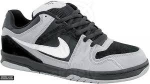 nike 6 0 skate shoes. nike 6.0 - oncore black/white/metallic silver 6 0 skate shoes a