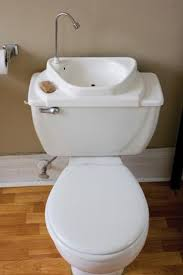 sink toilet combo - again, another good option for the ensuite