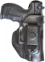 iwb leather holster with clip no thumb break