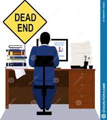 dead end job dead end job stock vector illustration of people career 126824744
