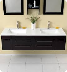 Small Picture Extraordinary Modern Bathroom Double Sinks Bathroom Vanities With