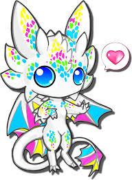 anime chibi dragon. Simple Chibi Chibi Cute White Dragon By Calgarycosplaydeviantartcom On Anime O