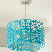 turquoise lighting. Young House Love Metal Strap Convertible Chandelier Turquoise Lighting