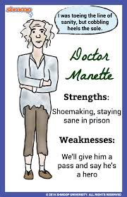 doctor manette in a tale of two cities character analysis