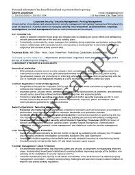 Management Resume Résumé Samples Chesepeake Career Management Services 99