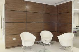 office wall panel. artizo walnut wall panels with black high gloss shadow moulding office panel