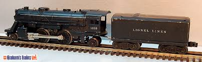 great savings on lionel mth atlas o more lionel 1655 2 4 2 steam locomotive 6654w whistle tender postwar