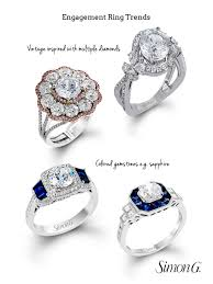 simon g jewelry enement ring trends vine inspired rings with multiple diamonds kate middleton influenced colored