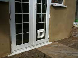 cat flaps fitted in glass in south west