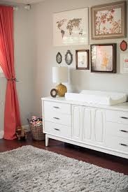 calming nursery dressers and nurseries on pinterest baby nursery girl nursery ideas modern
