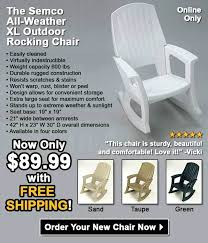 semco rocking chair recycled rocking chairs an rocking chair made from recycled plastic bottles