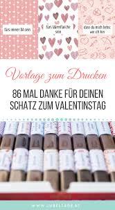 Merci Druckvorlage Zum Valentinstag 86 Mal Danke Für Deinen Schatz