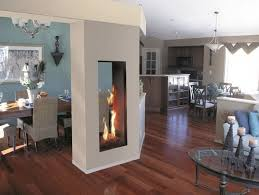 double sided electric fireplace insert sport sense regarding 2 sided electric fireplace plan