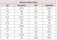 Chanel Espadrilles Shoe Size Chart Best Picture Of Chart