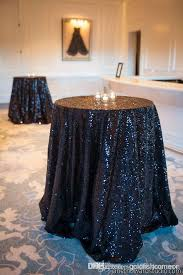 new arrived black sequin tablecloth 48 inch round table cloth party boxes for kids party centerpieces from goldfishcomeon 27 8 dhgate com