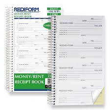 Money Rent Receipt Book