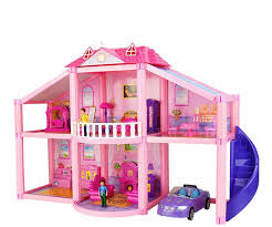 Cheap dolls house furniture sets Le Toy Doll House Furniture Plastic Car Bed Man Kids Miniature Table Diy Dollhouse Educational Toys Pink Large Big Doll House Model Kit Inexpensive Dollhouse Dhgate Doll House Furniture Plastic Car Bed Man Kids Miniature Table Diy