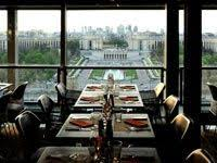 dining with eiffel tower view. dinner inside the eiffel tower at 58 tour eiffel, is a must do. very expensive but worth every euro, spectacular views, dressy, \u0026 trendy. dining with view