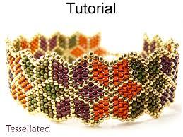 Brick Stitch Patterns Interesting Beading Tutorial Pattern Bracelet Brick Stitch Christmas