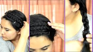 Simple Hairstyles For College Easy Quick Summer Hairstyle For College Or Work Delhi Fashion