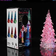 Großhandel Christbaumschmuck Weihnachtsbaum Eis Kristall Bunte ändern Led Schreibtisch Dekor Tischlampe Licht Frohes Neues Jahr Von Youmytop 169