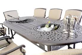cast metal garden furniture