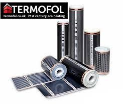 Electric Infrared Underfloor Heating Film Mat 220W/m² Laminate Floor 305T