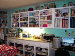 craft room ideas bedford collection. Small Art Studio Design Ideas Classic Scrapbook Room Sky Blue Wall Office Desk Craft Bedford Collection