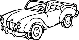 Toy Car Classical Coloring Page Coloring For Kids 2019