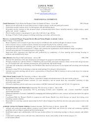 Personal Trainer Resume Example No Experience Examples Of Resumes