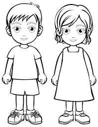 Free Person Coloring Page Download Free Clip Art Free Clip Art On
