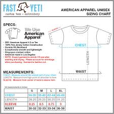 American Apparel Size Chart 47 Detailed American Apparel T Shirts Size Chart