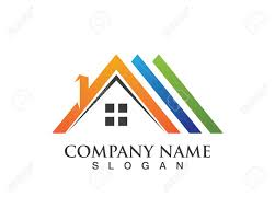 Real Estate And Home Buildings Logo Icons Template Royalty Free