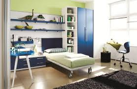 Appealing Blue and Green Boy's Bedroom
