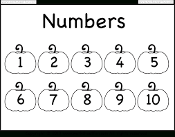 Number Chart 1 10 Worksheet Free Printable Worksheets