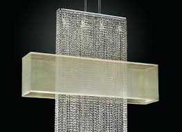 extra long crystal chandelier spiral lamp rectangular home improvement scenic shade ur inspiring large rectangle