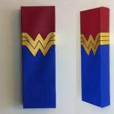 wonder woman canvas painting by deveaudesigns on etsy on wonder woman canvas wall art with wonder woman art print comic art vintage home wall decor