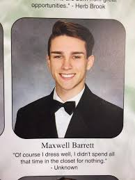Best Yearbook Quotes Awesome Teenager Comes Out Of The Closet In His Senior Yearbook Quote