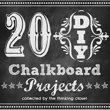20 diy chalkboard projects the thinking closet