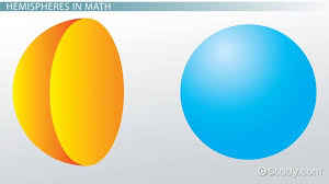 what is a hemisphere in math definition example