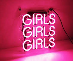 neon wall sign 14 neon signs under 100 to add a little technicolor to your life