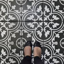 Black And White Patterned Floor Tiles Gorgeous Black Tile Find Great Home Improvement Deals Shopping At Overstock