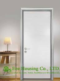 modern office door. 40mm Thickness Aluminium Office Doors, Aluminum Frame Interior Door With Simple Style,Moisture Proof For Sale-in Doors From Home Modern