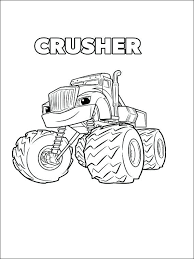Blaze And The Monster Machines Coloring Pages Pdf Lovely Top Of