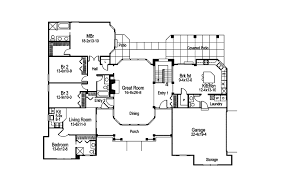 traditional house plans. Southern House Plan First Floor - 007D-0150   Plans And More Traditional T